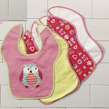 Toddler Bibs - 4 Pack